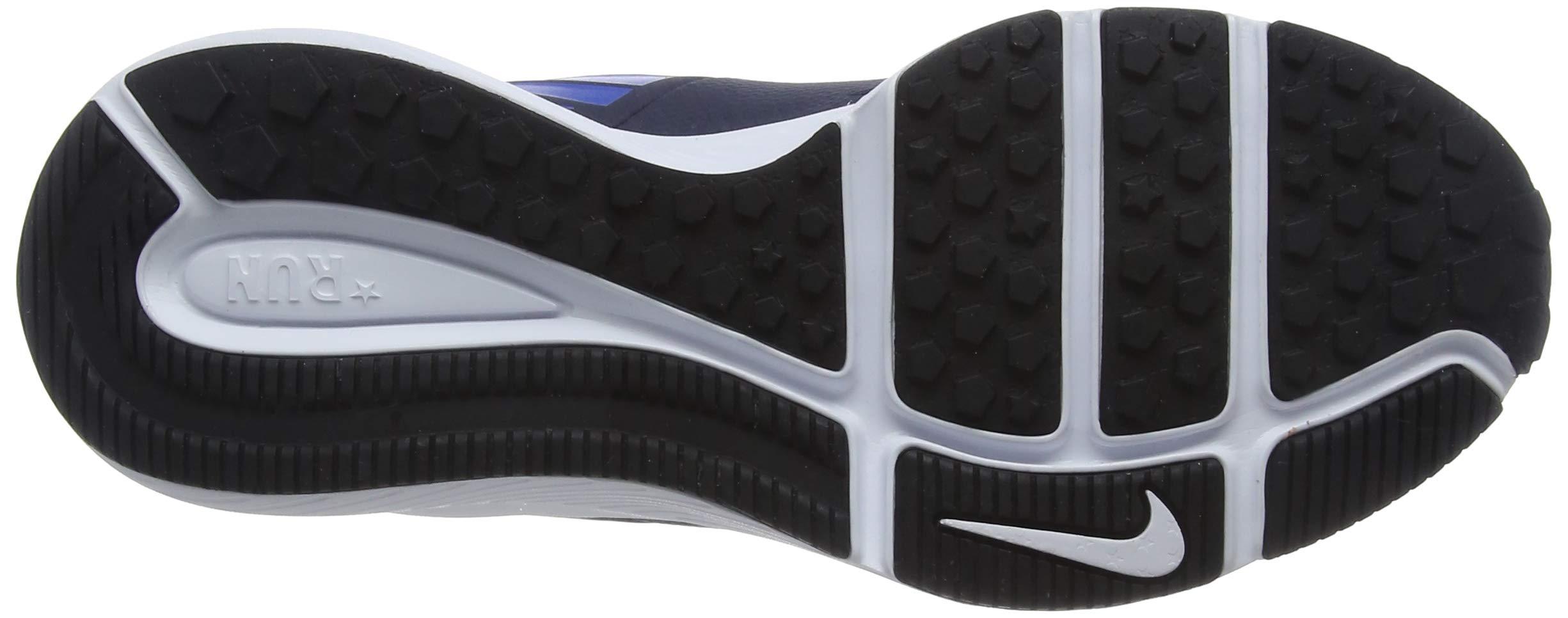 Nike Boy's Star Runner (GS) Running Shoe Obsidian/Metallic Silver/Signal Blue Size 3.5 M US by Nike (Image #3)