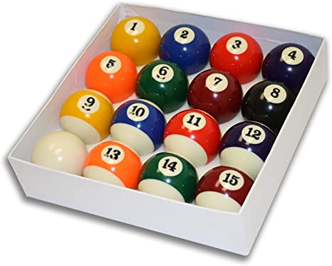 Vasens Juego de bolas de billar para mesa de billar de piscina ...