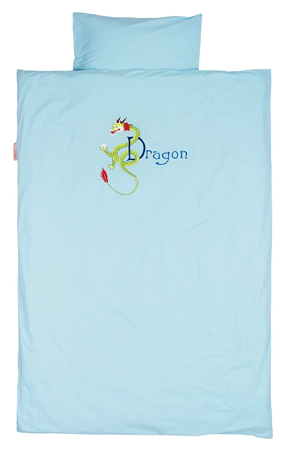 Taftan Dragon Duvet Cover Set 100 x 135cm for Cot (Turquoise) DS-280