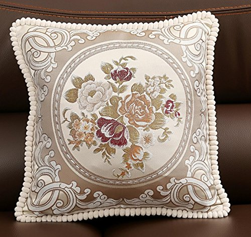 Sideli - European Classic Puff Jacquard Decorative Pillow Co