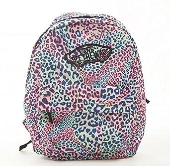 f73db8703994 Vans G Realm Leopard Multi Backpack Rucksack  Amazon.co.uk  Clothing