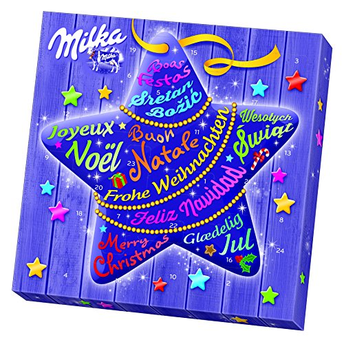 Milka Mix Adventskalender, 1er Pack (1 x 219 g)