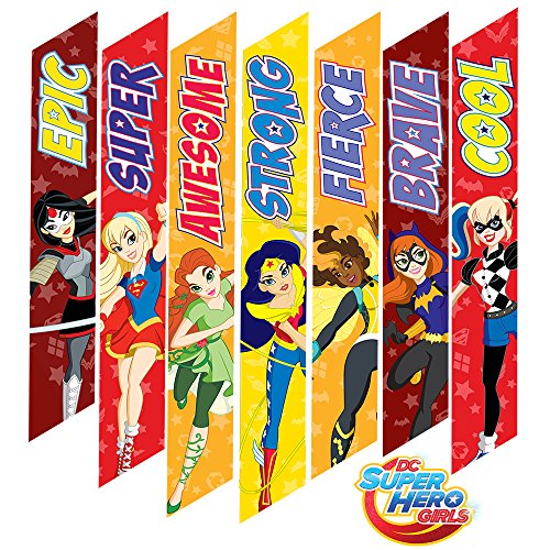 DC Super Hero Girls Large Motivational Wall Decals