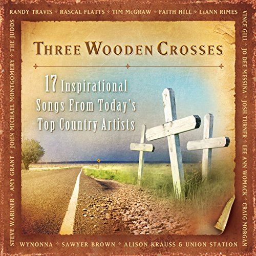 Three Wooden Crosses by Word Entertainment
