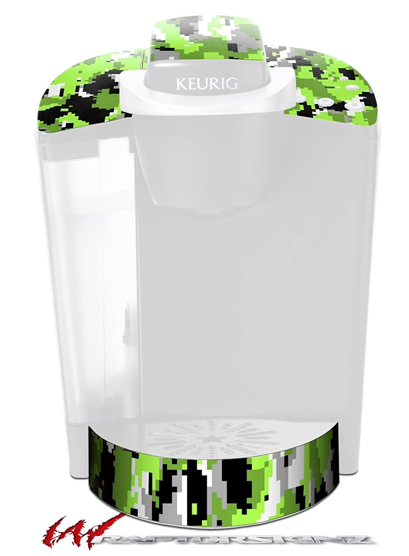 wraptorcamoデジタル迷彩ネオングリーン – デカールスタイルビニールスキンFits Keurig k40 Eliteコーヒーメーカー( Keurig Not Included )   B01D6FLIHO