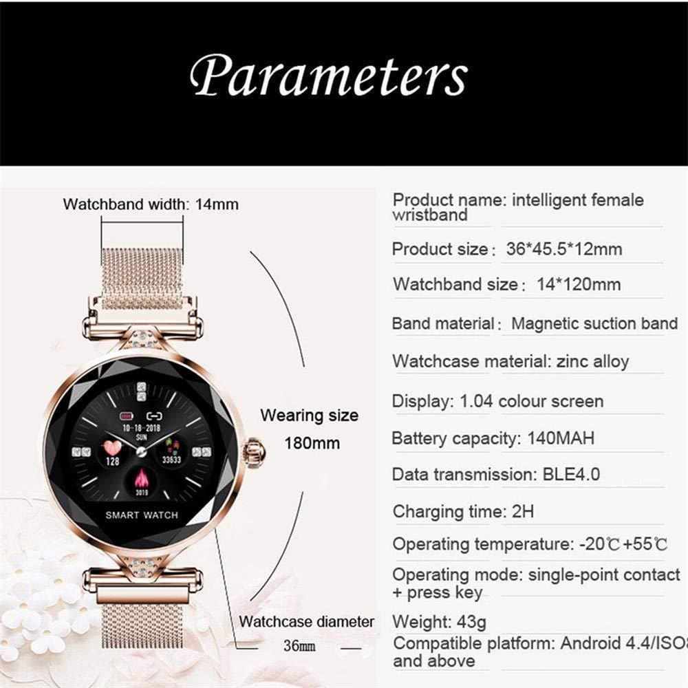 Arteki Women Smart Watch, Fishion Fitness Tracker Smartwatch ...