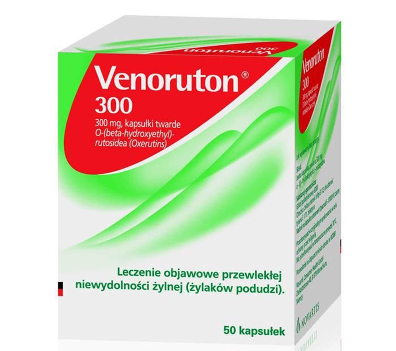 VENORUTON 300-50 CAPS by INPHARM