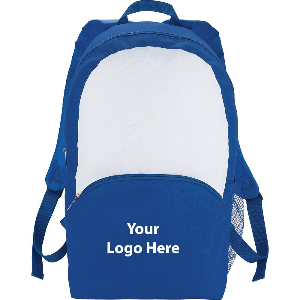 Zone Backpack With Pouch - 50 Quantity - $9.55 Each - PROMOTIONAL PRODUCT / BULK / BRANDED with YOUR LOGO / CUSTOMIZED by Sunrise Identity