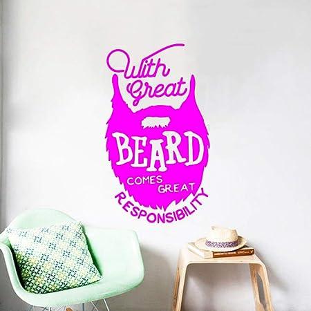 xingbuxin Etiqueta de la Pared Cotizaciones con Gran Barba ...