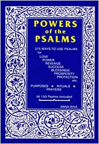 The power of the psalms by anna riva