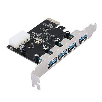 Moliies Adaptador de Tarjeta PCI PCI-E PCI-E USB 3.0 ...