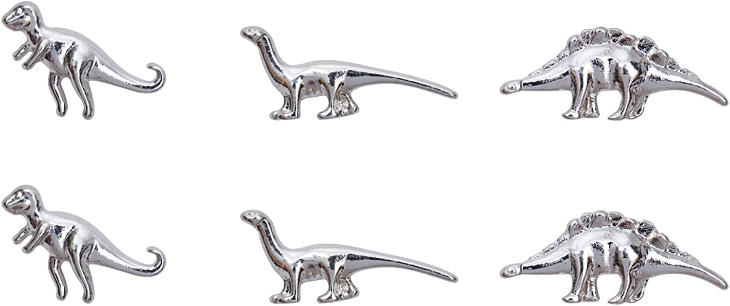 Gold Silver Dinosaurs...