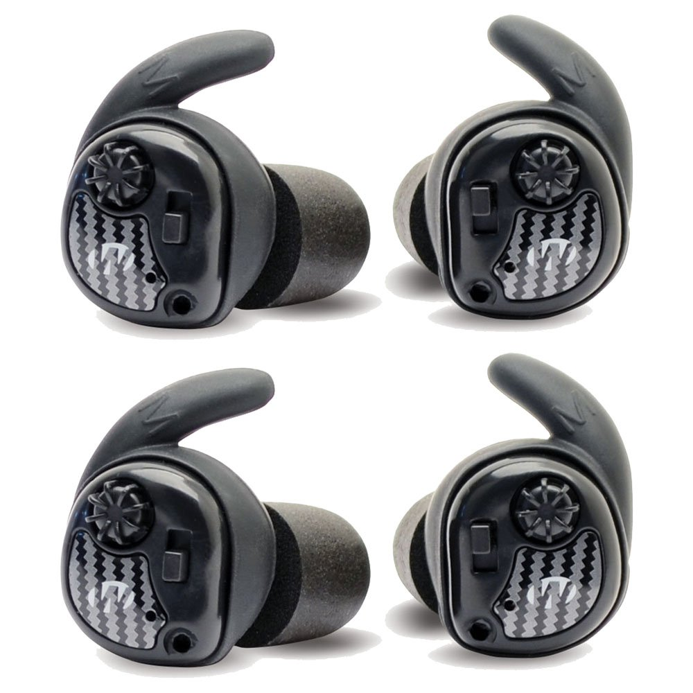 Walkers Silencerハンティングシューティングで耳保護デジタルEar Buds、2ペア B0756PSL44