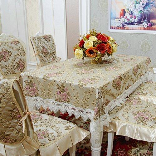 Estilo nórdico vestirse Mantel, mesa ovalada, Tela, Mesa De Café ...