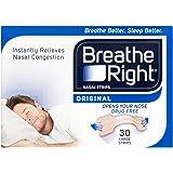 Breathe Right - 2391324 - 30 bandes nasales - Large