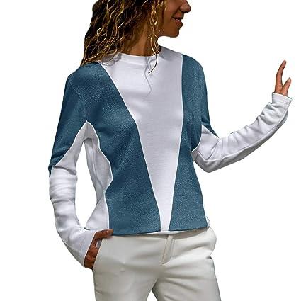 Baofull Herrenbekleidung Casual Moda Sudaderas para Mujer Elegante Vintage Cuello Alto Tartan Túnica De La Bufanda