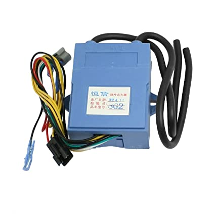 Cocina de gas del calentador de agua Doble Encender Cable de Pulso encendedor 8G2