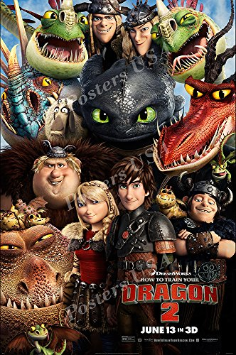 Posters USA - DreamWorks How to Train Your Dragon Movie Poster GLOSSY FINISH - FIL105 (24