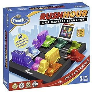 ThinkFun Rush Hour, Logik- und Strategiespiel, für Kinder und Erwachsene, Brettspiel ab 1 Spieler, ab 8 Jahren 3