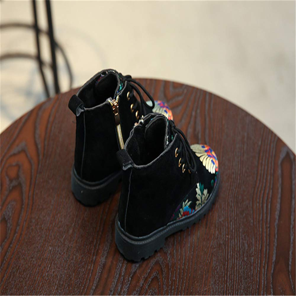 Quality.A Retro Snow Boots Boys and Girls Boots Martin Boots Casual Boots