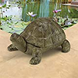 Design Toscano Aesop's Turtle Cast Iron Statue