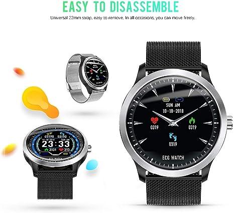 N58 ECG Sports Watch HRV Report Blood Pressure Heart Rate Test ECG+PPG ECG Smart Bracelet