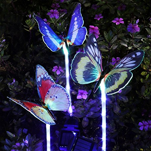 Butterfly Garden Solar Lights