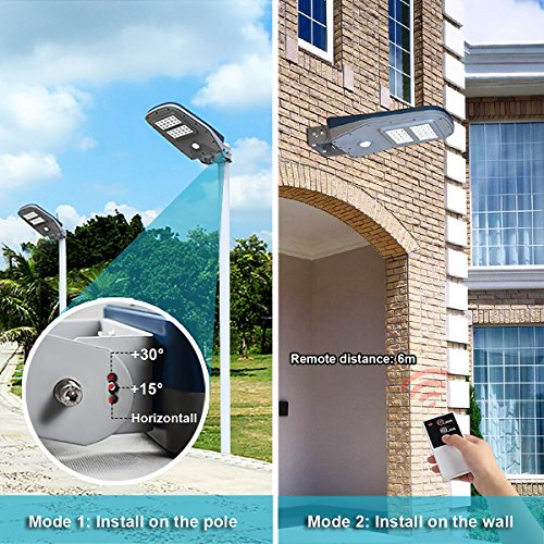 GBGS Solar Street Light Outdoor IP65 With Remote Control