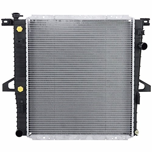 Klimoto Brand New Radiator fits Ford Explorer 2000-2001 Mercury Mountaineer 4.0L V6 Lifetime Waranty E9SZ8100A XL2H8005DA XL2Z8005DA SBR2309 Q2309 CU2309 RAD2309 DPI2309