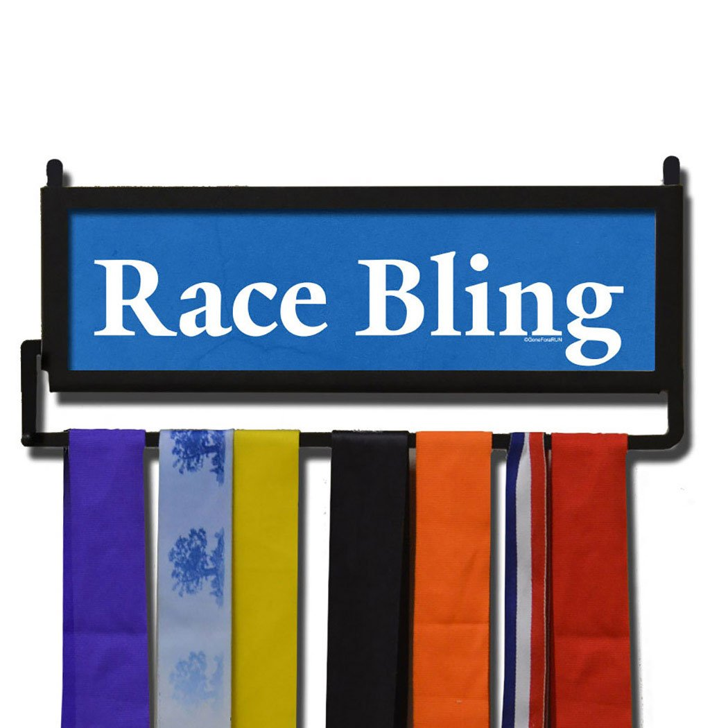 runnerswall Race Bling Medal表示 B00FSFB592ロイヤルブルー