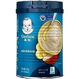 嘉宝 Gerber  香蕉苹果2段  6-36个月较大婴儿和幼儿营养米粉 225g 罐装 (新老包装随机发货)