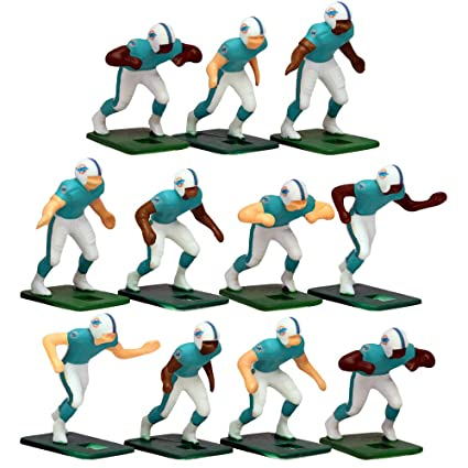 ee343d06 Miami Dolphins Home Jersey NFL Action Figure Set