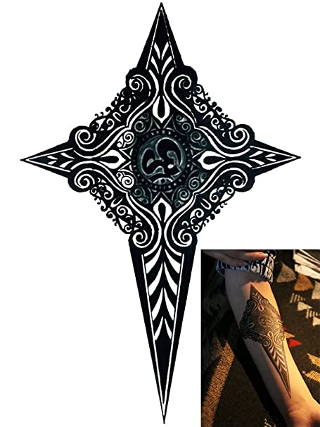 Novu Ink tatuaje temporal transferencia goliton Tribu daga ...