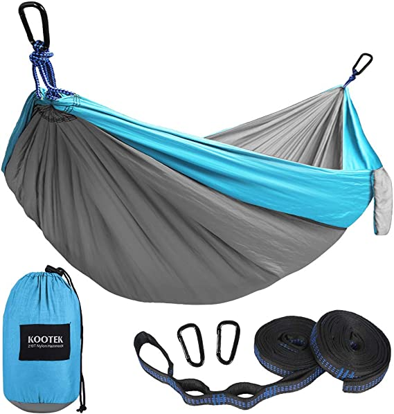 Kootek Camping Hammock - More Durable Tree Straps