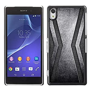 GagaDesign Phone Accessories: Hard Case Cover for Sony Xperia Z2 - Stainless Steel