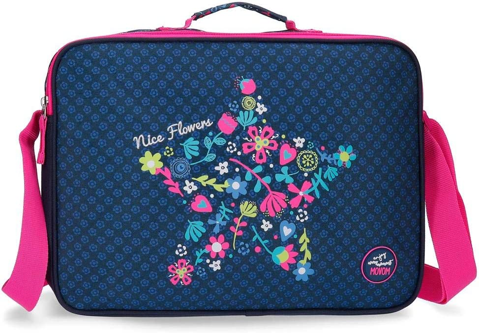 Trousse double compartiment Movom Nice Flowers