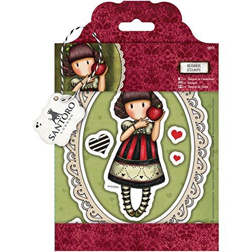 DOCrafts Gorjuss Santoro Rubber Stamp, Dear -