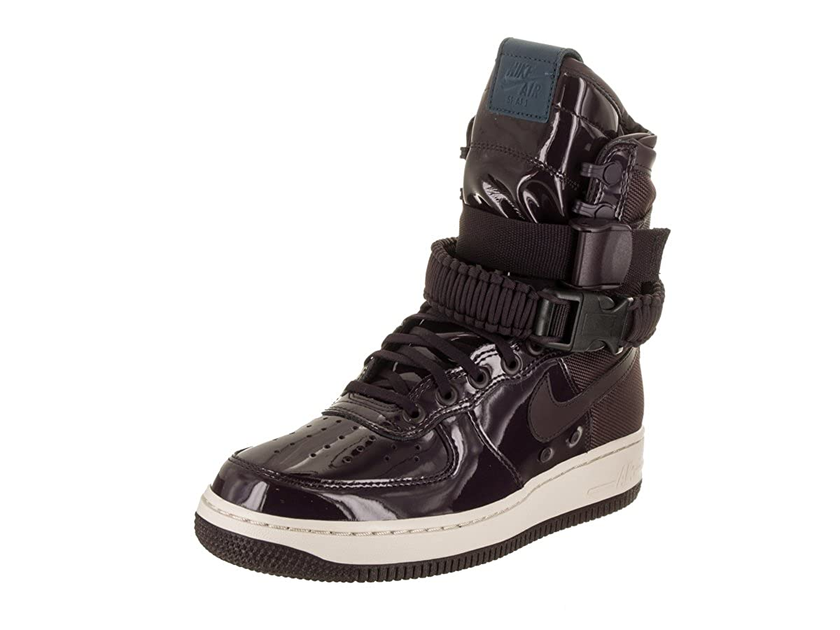 Nike Air Force One SF Special Field AF-1 SE SE SE Premium Prm Port Wine Exclusive Collection, Schuhe Damen + Bolsa d19365