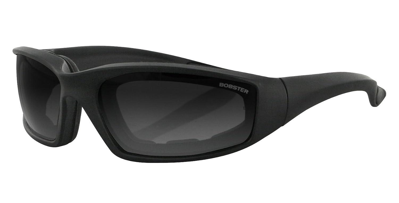 Bobster DAG-00007 Foamerz 2 Sport Sunglasses, Black Frame/Amber Lens, one size ES214A