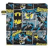 Bumkins DC Comics Reusable Snack Bag Large, Batman