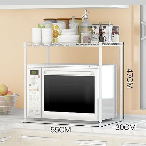 Mensole della cucina Organizer ZXLDP Forno A Microonde Rack 1 Strato ...