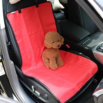 Mascota – Funda para asiento delantero sillas de coche, impermeable mascotas asiento de coche asiento