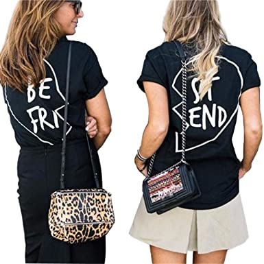 a4acb83c08c ANBOO Bestie BFF Best Friend BE FRI ST END Sweatshirt Matching Outfit  Sister Sweater (