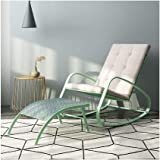 HU Rocking Chair Adult Nap Chair Balcony Lounge Chair Rocking Chair Nordic Simple Lazy Easy Chair (Color : D)