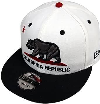 New Era California Republic White Black Snapback Cap 9fifty 950 ...