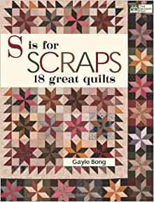 S is for Scraps: 18 Great Quilts: Gayle Bong: 9781564779939 ... : great quilts - Adamdwight.com