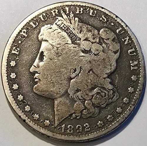 - 1892 S Morgan Dollar Dollar Very Good