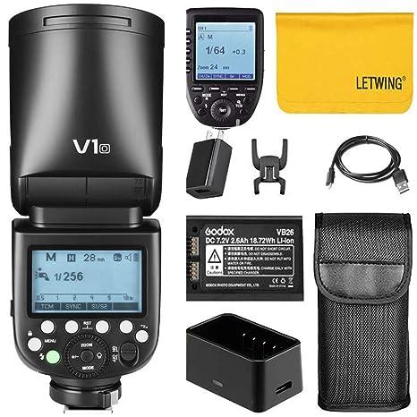 Godox V1-O TTL - Flash de Flash para cámara réflex Digital con ...