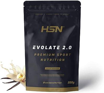 HSN Aislado de Proteína de Suero Evolate 2.0 | Whey Protein Isolate | Proteína CFM + Enzimas Digestivas (Digezyme) + Ganar Masa Muscular | ...