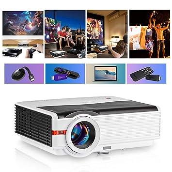 Mini proyector portátil para películas al Aire Libre, proyector de ...